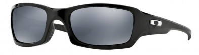 Oakley FIVES SQUARED OO9238 06 Polished Black Polarized Sonnenbrille