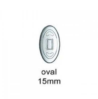 Nasenpads/ Brillenpads 15 mm Click oder Schraub